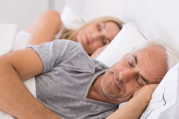 sleep apnea treatment patients resting together